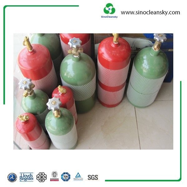DOT MC10 3 6L B40 7 8L Acetylene Gas Cylinder Price for