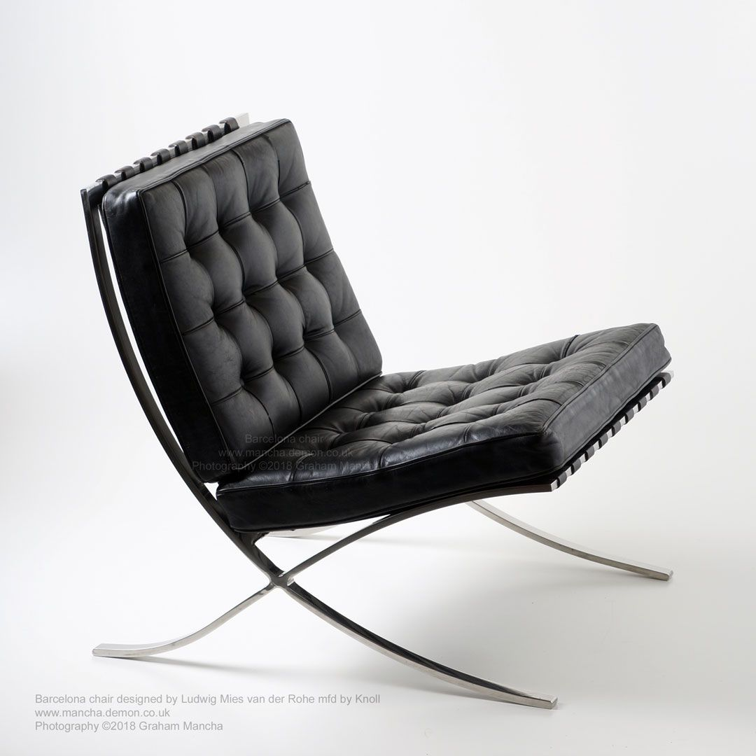 Superieur Ludwig Mies Van Der Rohe Barcelona Chair Model 250 (MR90) Mfd For Knoll.