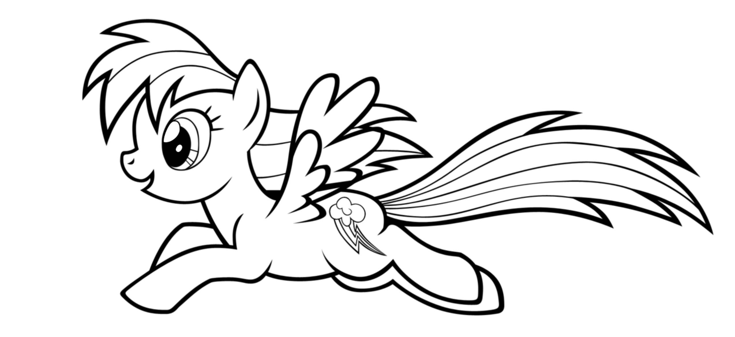 my-little-pony-coloring-pages-rainbow-dash.jpg (2550×1169 ...