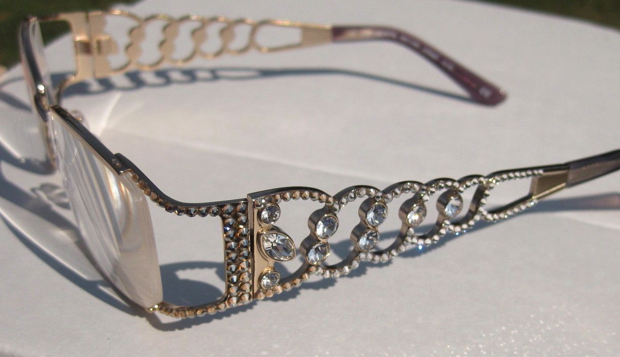 reading glasses with swarovski bling eyewear 1gif
