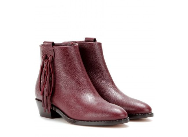 Valentino ankle boots (click through for more fringe finds)