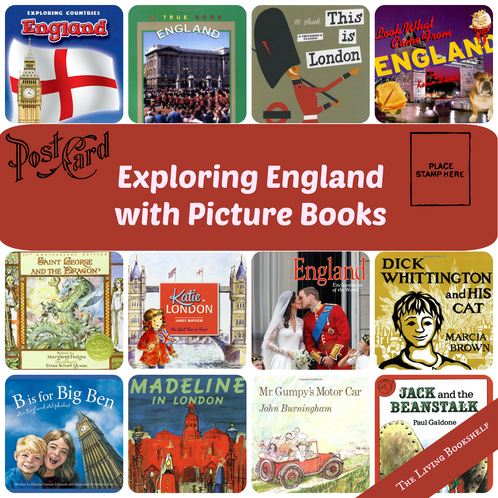 Exploring England With Picture Books