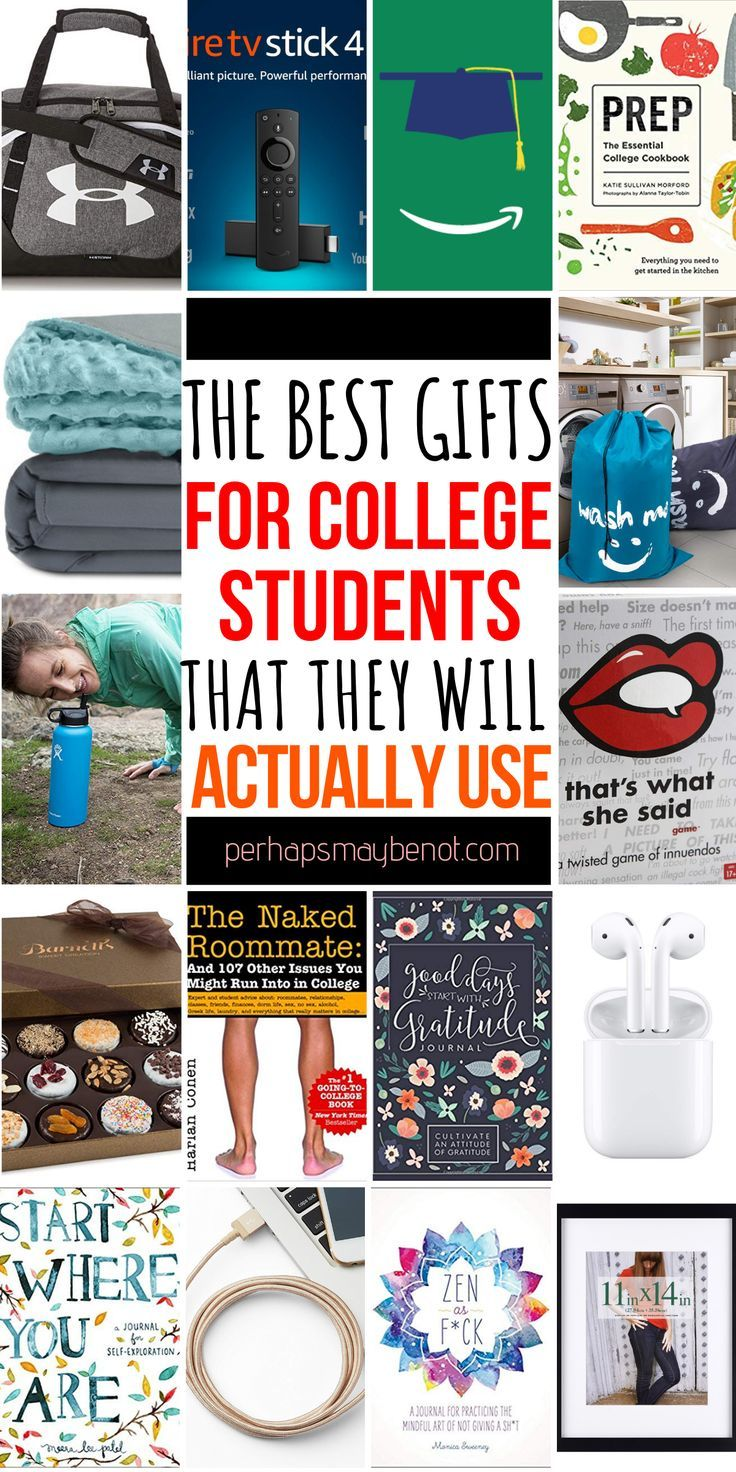 The Best Gifts For College Students That They Will