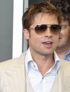 Brad Pitt s Ray Ban Sunglasses by glassesshop.com, via Flickr ... e4d8f59180