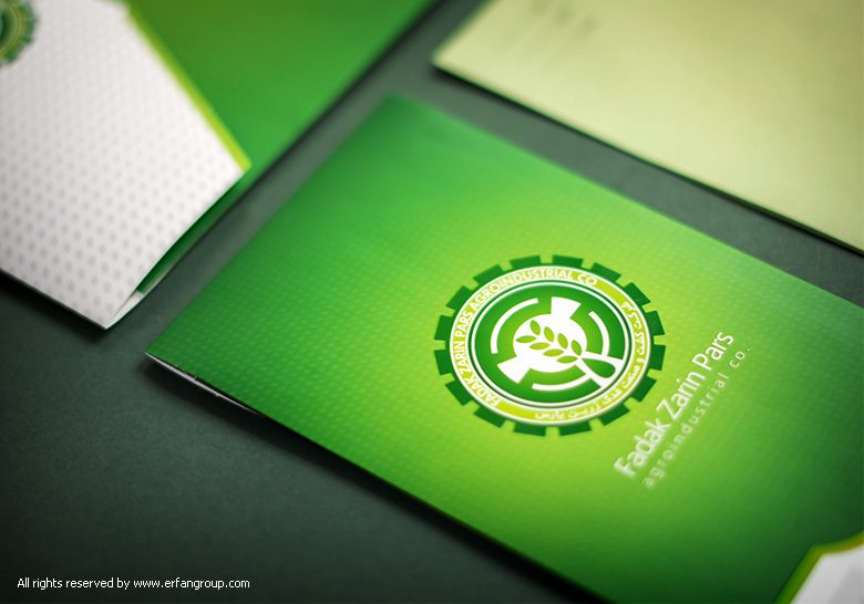 نمونه طراحی پاکت فدک زرین پارس  Identity design #graphic_design #pocket #corporation #Identity