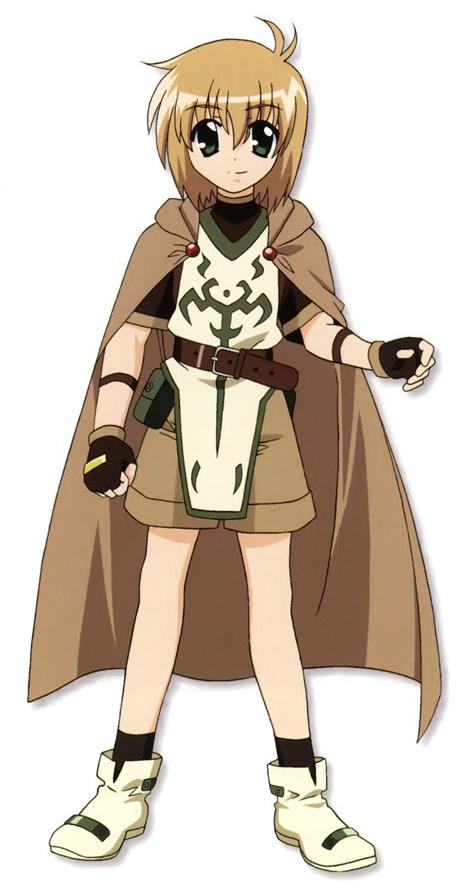 Yuuno Scrya Magical girl, Magical, Anime