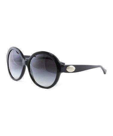 Michael Kors Gray Gradient Round Oversize Sunglasses. See if I can find these frames.