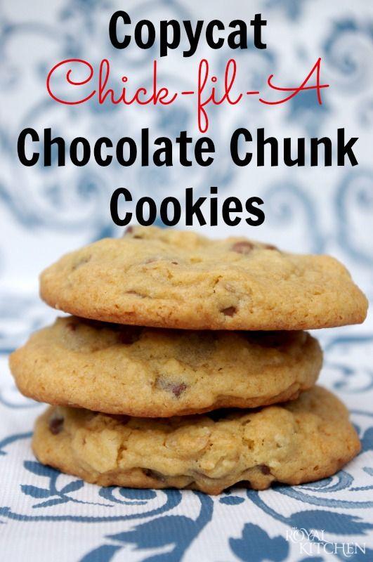 Chick fil a cookie recipe
