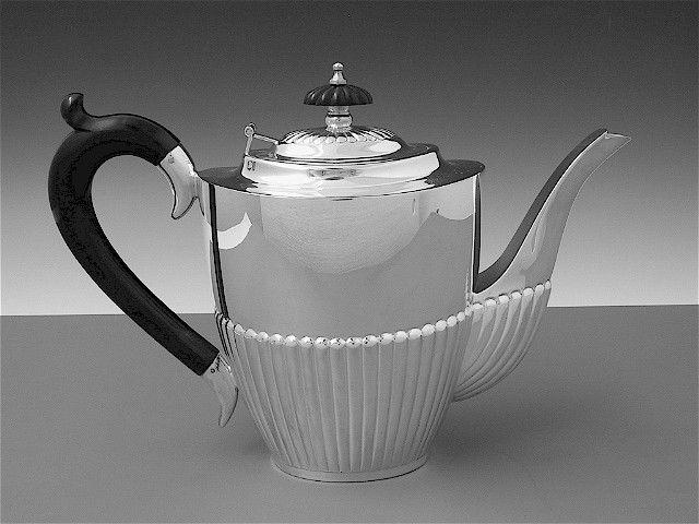 Sterling Silber Kaffeekanne Queen Anne