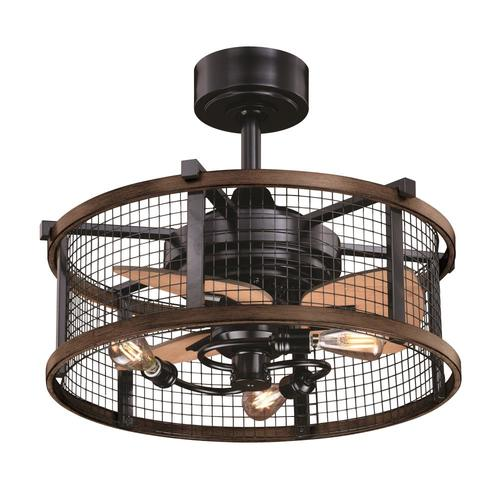 Cascadia Humboldt 21 In Oil Rubbed Bronze Led Indoor Ceiling Fan