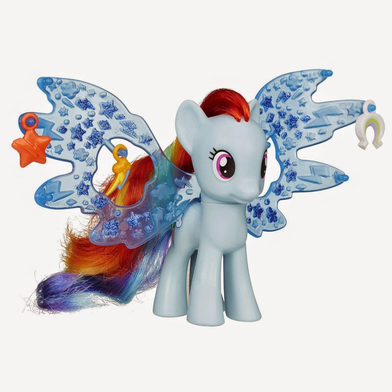 Rainbow Dash Cutie Mark Magic Charm Wings Brushable Little Pony Rainbow Dash All My Little Pony