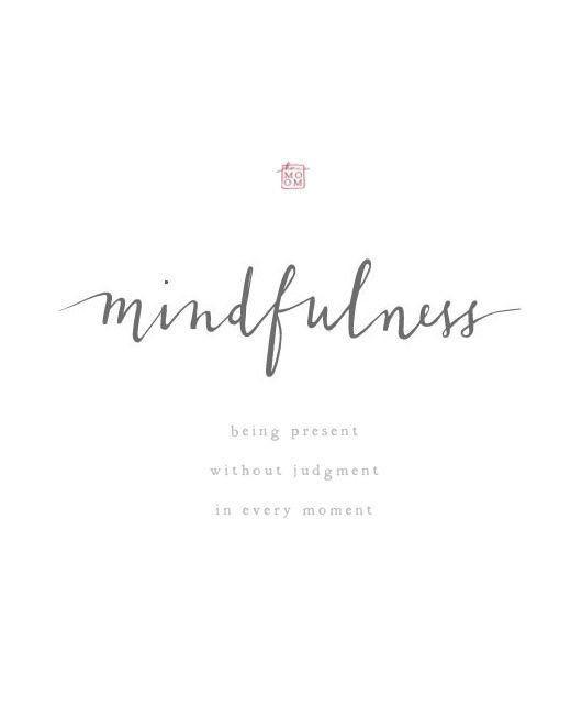 Tattoo Quotes Judgement: Mindfulness & Meditation