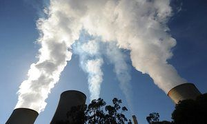 The Yallourn coal-fired power station in the Latrobe Valley