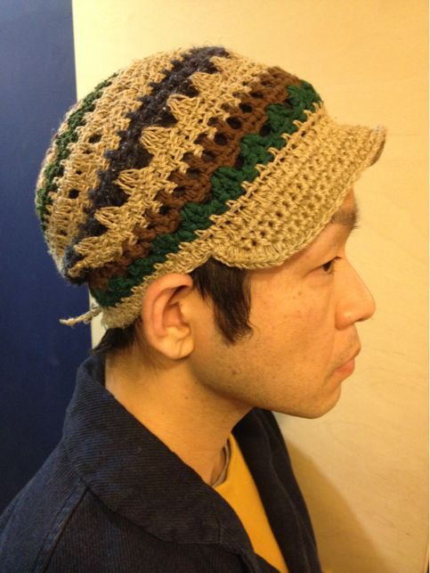 【Tomoknit】Bird Cap Long (Assort)Free ¥6,400-