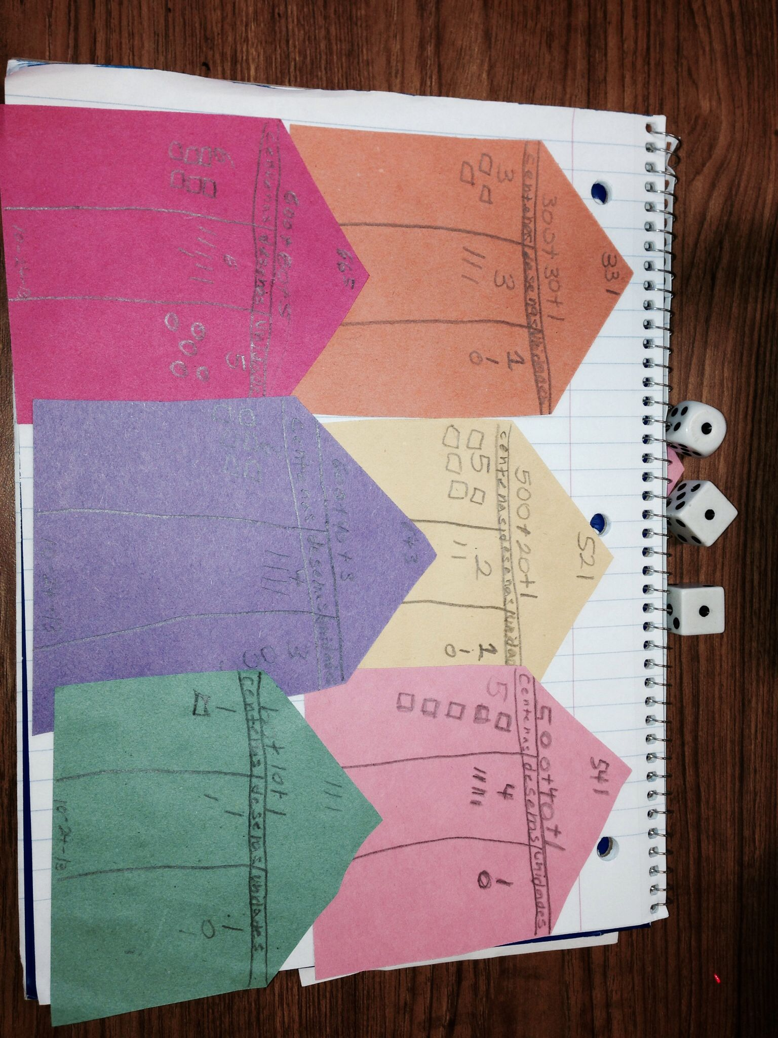 Place Value Dice Game Make The Biggest Number Draw It