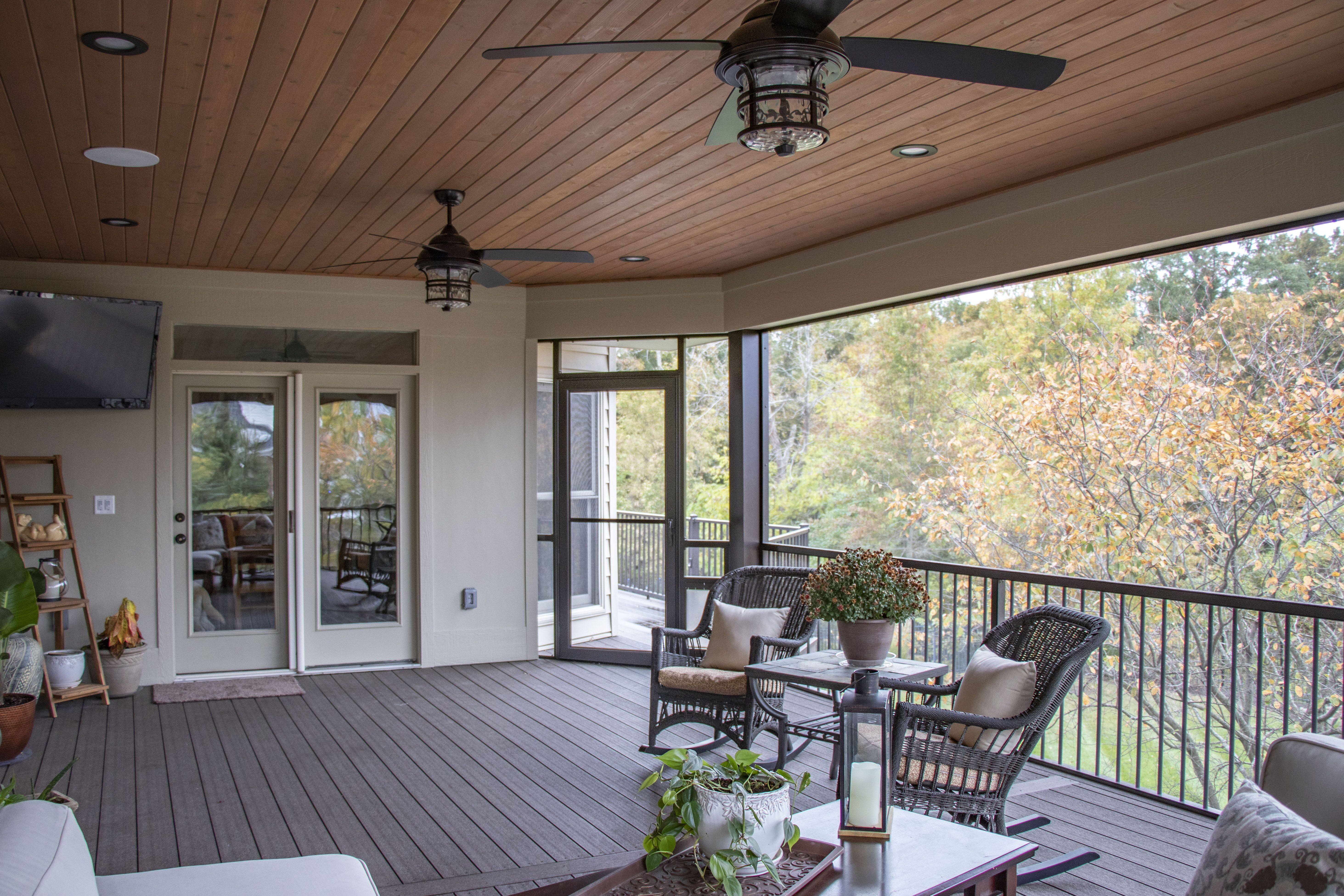 Custom screen room systems are a great option for outdoor ... on Outdoor Living Space Company id=17417
