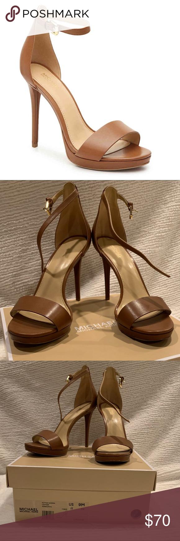 hutton suede sandal michael kors