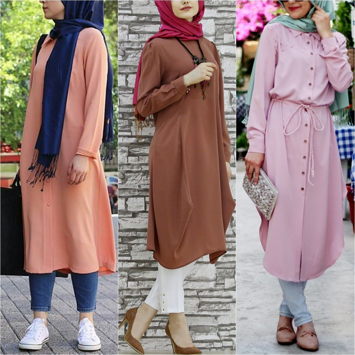 Beautiful Summer Long Blouses - Prices & Stores | Hijab Fashion ...