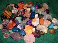 Where do gems form and where are they found?