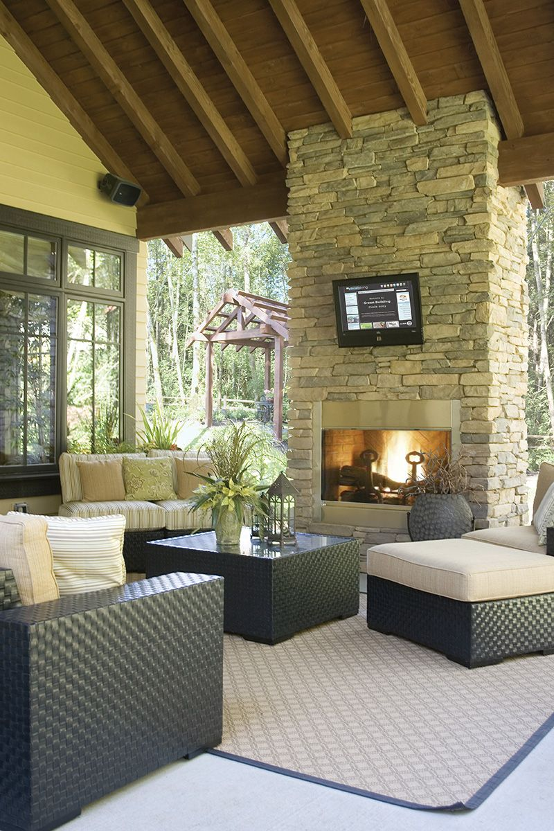 Cozy Outdoor Living In Plan 011s 0087 House Plans And