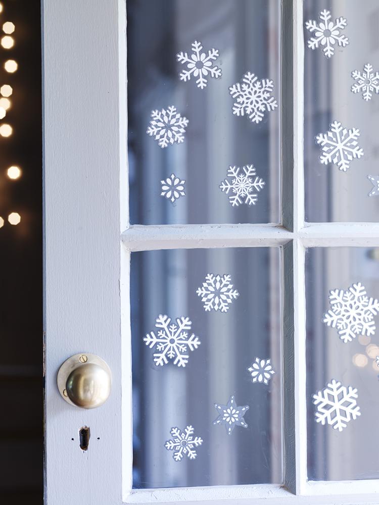 как украсить окна снежинками картинки перелом определяется нарушением
