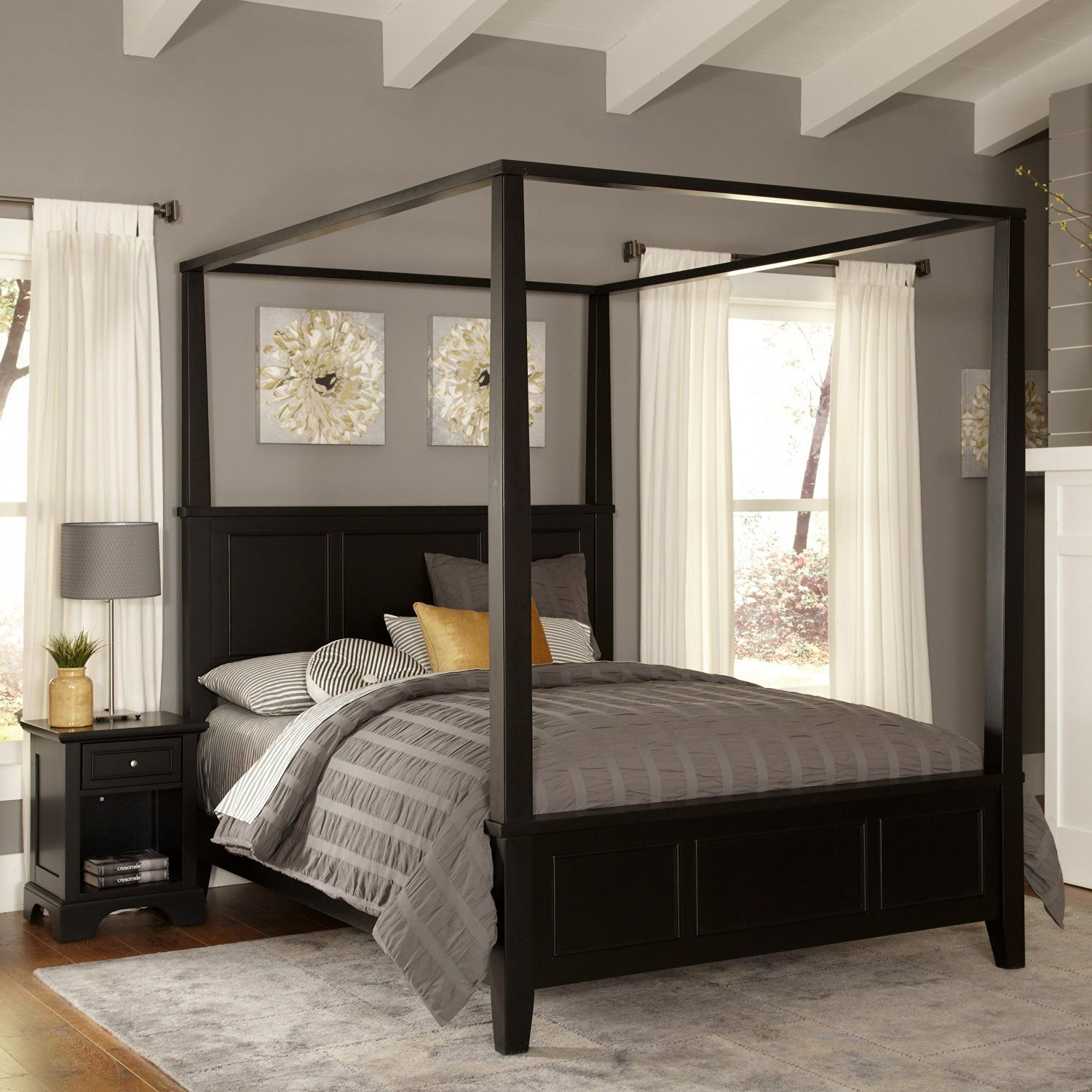 Bedroom decorating ideas Canopy Bedrooms and Furniture sets