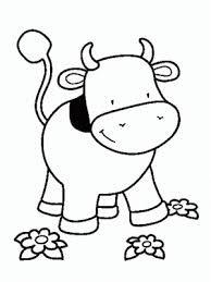 Dibujos Para Colorear De Vacas Tiernas Buscar Con Google Vacas Bebe Animais Para Colorir Desenhos