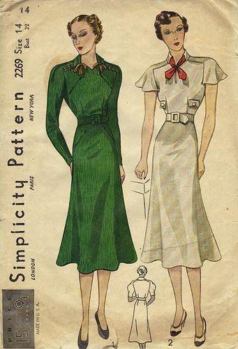 simplicity dress 2269 | Pinterest