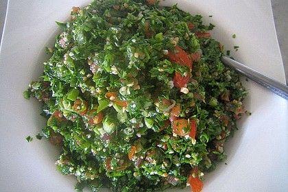 Libanesischer Petersiliensalat von Zuckerschnutenmaus | Chefkoch