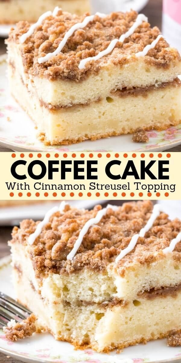 Coffee Cake Recipe Classic coffee cake recipe, Cake