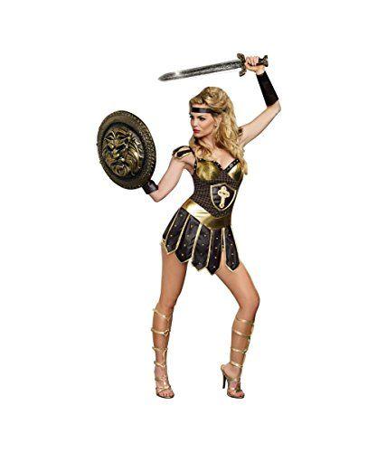 99973b43f Fantasia Gladiadora 454   Hâlløwėėn   Gladiator halloween costume, Sexy  halloween costumes e Warrior princess costume