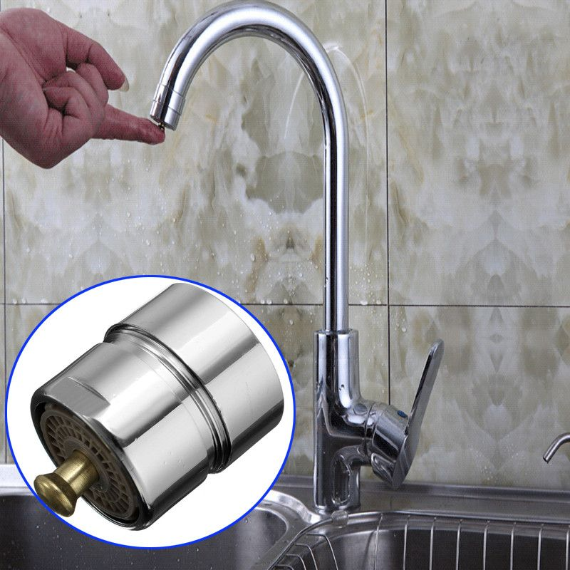 Brass Touch Control Faucet Aerator Water Valve Water Saving One Touch Tap Aerator New Generation Durable Faucet Aerators Aerator Water Valves