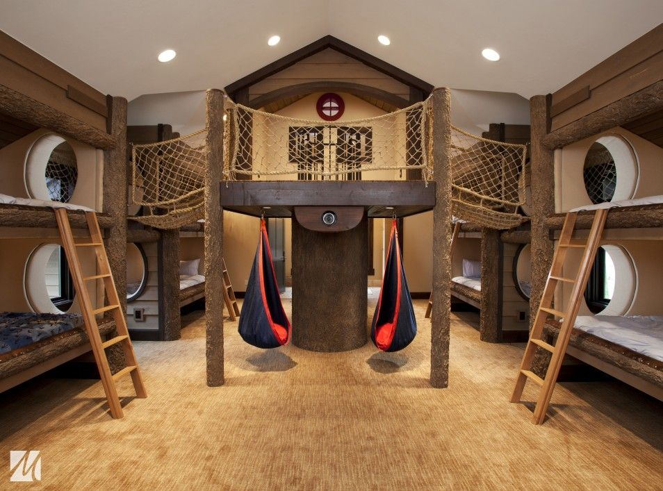 wonderful cool ideas for boys rooms blue kids room with wooden triple bunk amazing furniture s