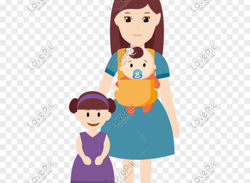 Gambar Kartun Muslimah Ayah Ibu Dan Anak Perempuan ...