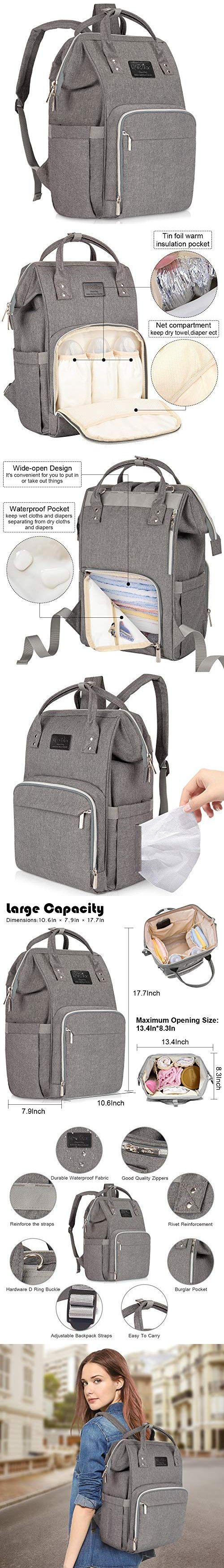 b5e30ea1b4 Diaper Bag Backpack