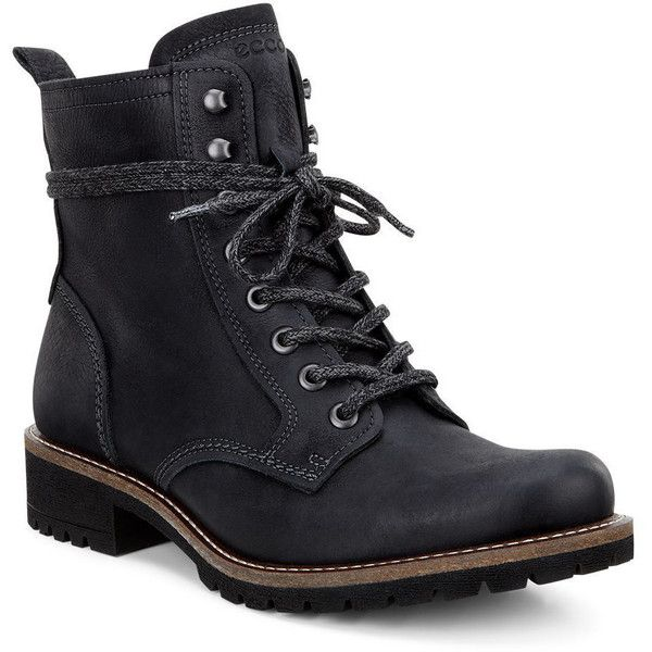 bee3f0995f ECCO Women's Elaine Boot Boots ($195) ❤ liked on Polyvore featuring ...