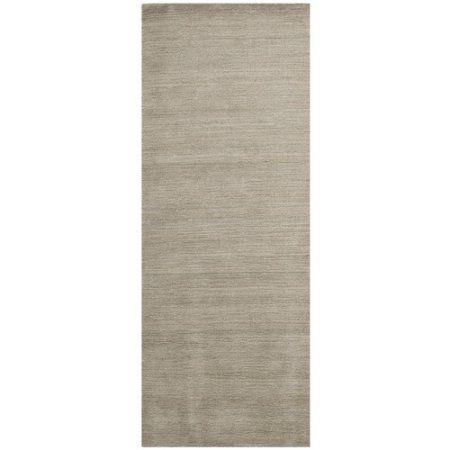 Safavieh Himalaya Dawa Hand-Loomed Wool Runner Rug, Gray