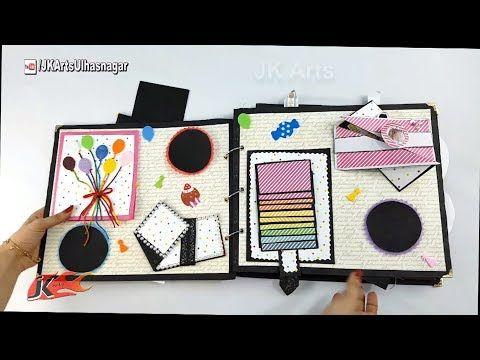 Diy Birthday Scrapbook Tutorial Birthay Gift Idea How To Make A