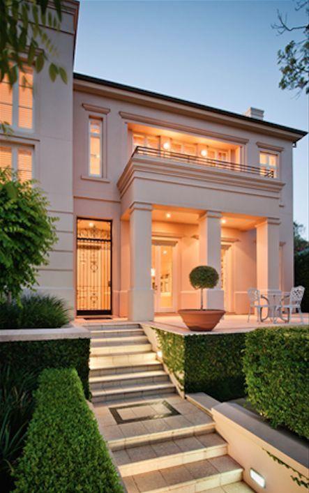 Fachada casa moderna house ideas pinterest fachadas for Fachadas de casas interiores
