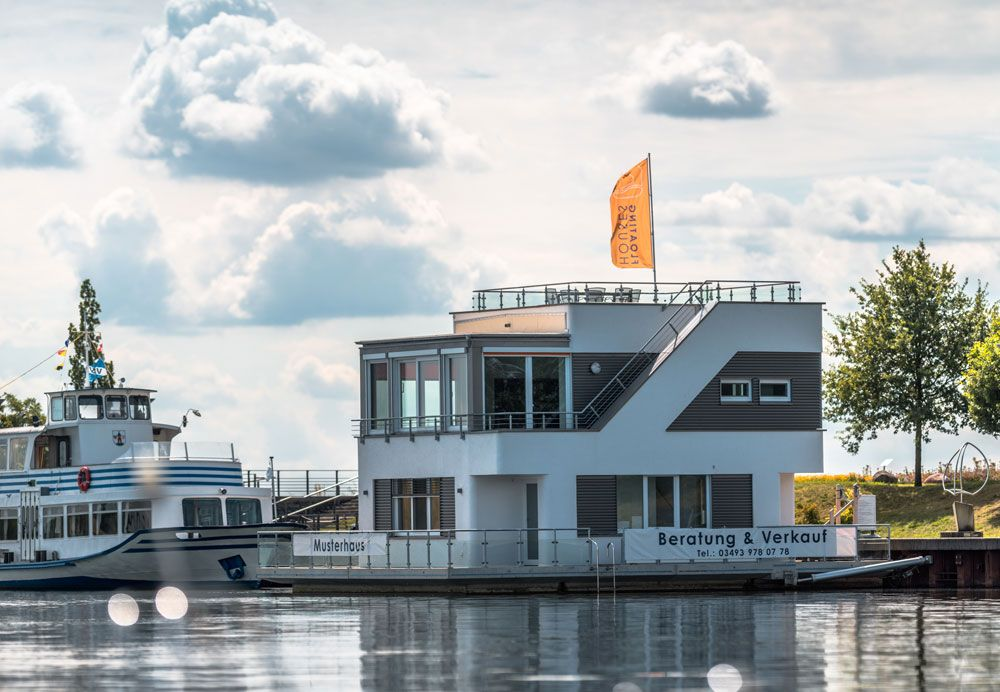 Hausboote und schwimmende Häuser Preise, Liegeplatz