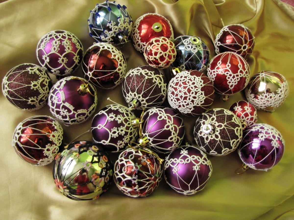 free tatted christmas ornament patterns tatting patterns