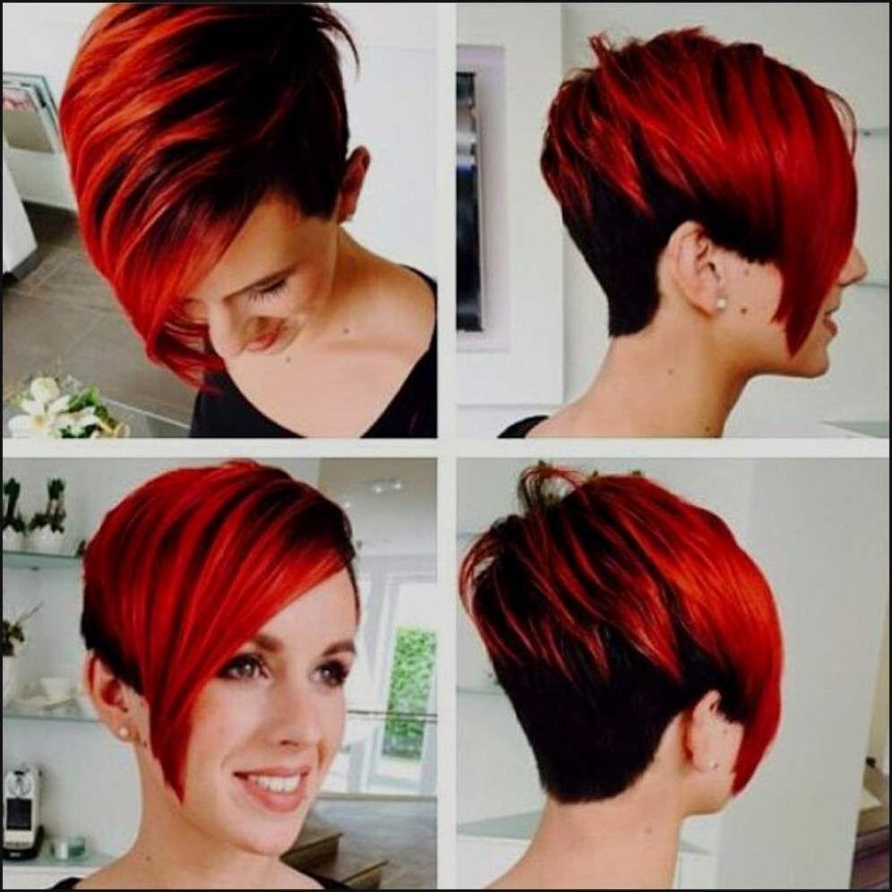 Frisuren Frauen Kurze Schwarz Rote Haare Kurze Haare Rot Schwarz