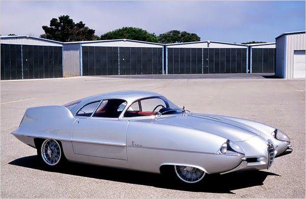 Alfa Romeo B.A.T. 9 (1955) #alfa #alfaromeo #italiandesign