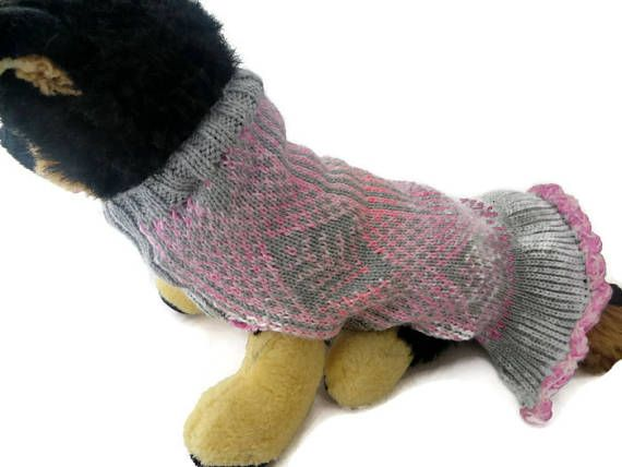 French Bull dog  Sweater / dress Princess dress   Large dog
