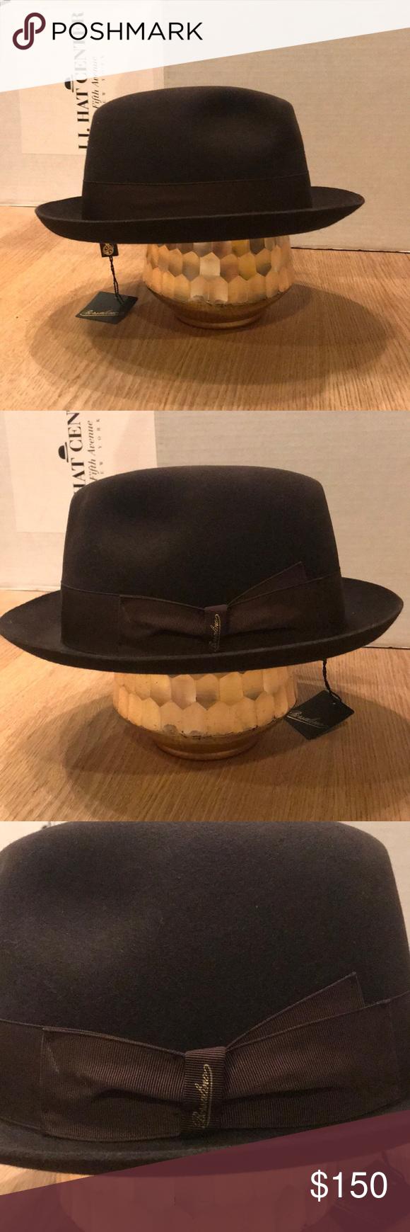 54209102dfa Borsalino Hats Usa - Parchment N Lead