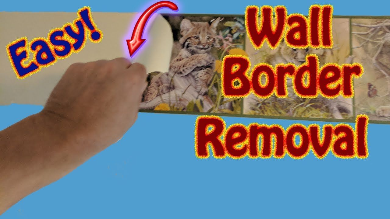 the easy way to remove wall border wallpaper boarder on border wall id=96016