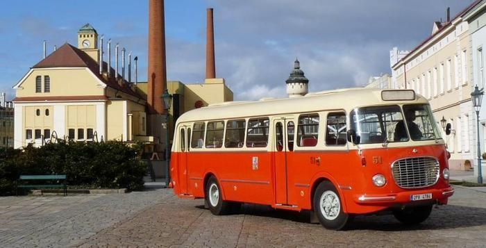 Historický autobus Škoda 706 RTO vyjede v Plzni 28. října