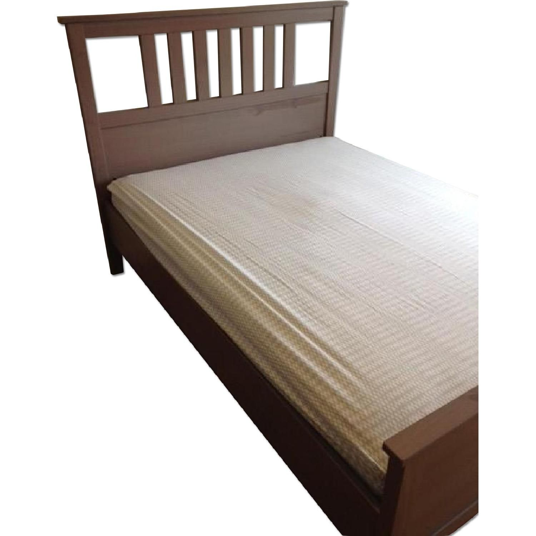 Ikea Hemnes Full Size Bed W Luroy Slatted Bed Base Bed Slats