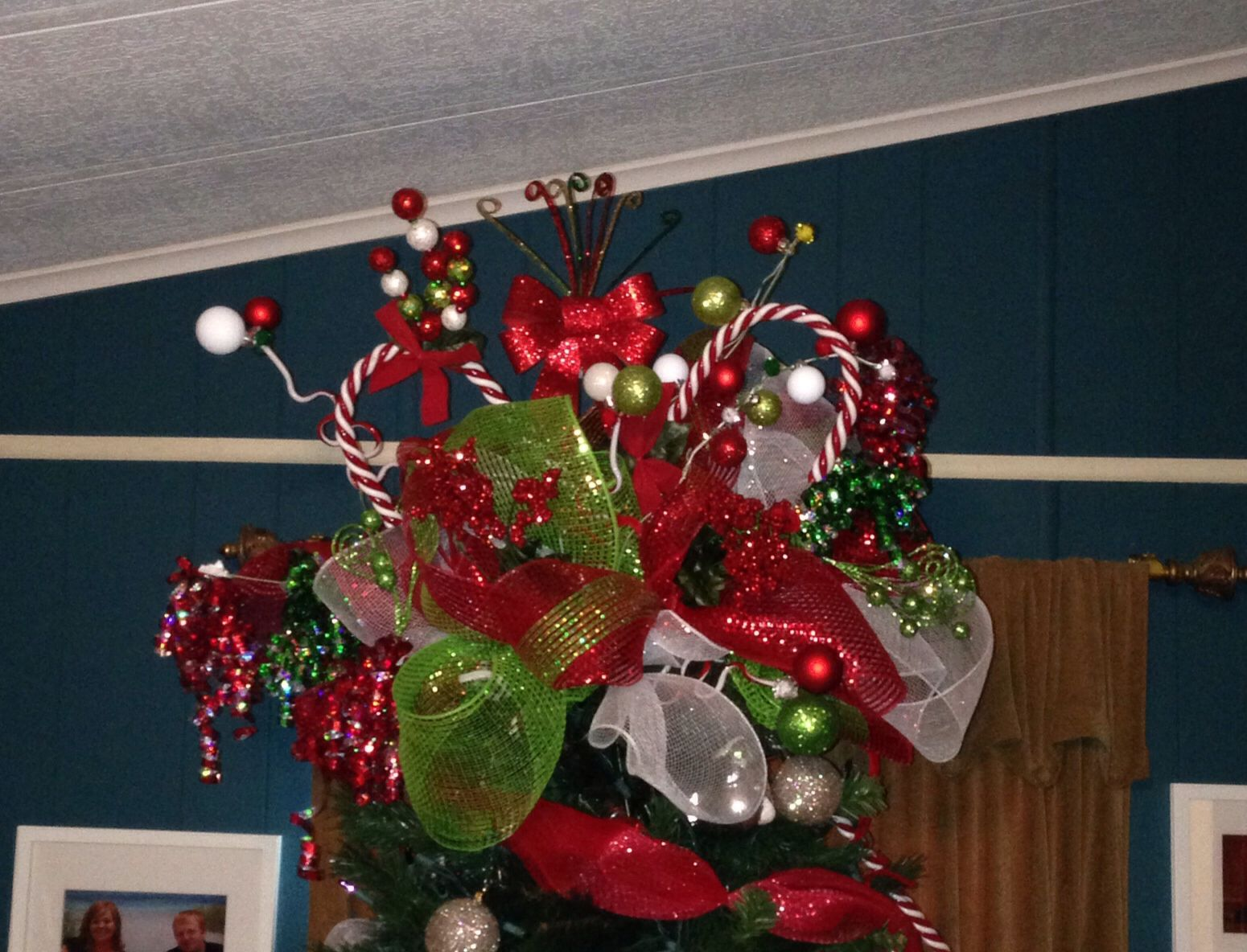My New Christmas Tree Topper I Just Finished I Am