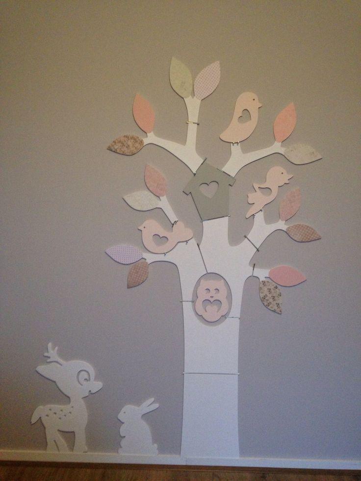 ideeen meisjeskamer boom op muur - google zoeken | kids, Deco ideeën